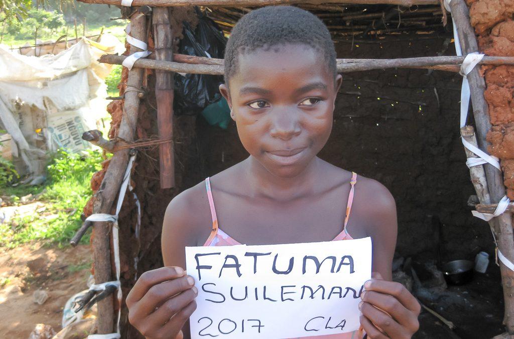 Fatuma Suilemani sucht einen Paten