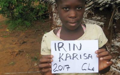 Irin Karisa sucht eine Patenschaft