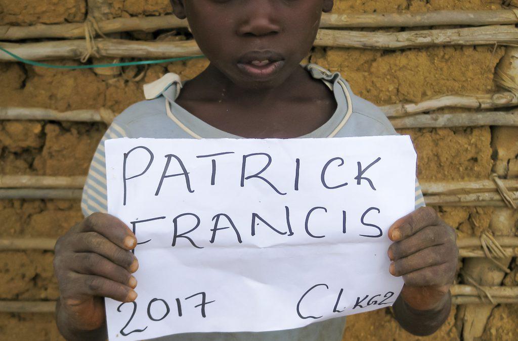 Patrick Francis sucht eine Patenschaft