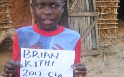 BRIAN KITHI KOMBE sucht eine Patenschaft (140-17)