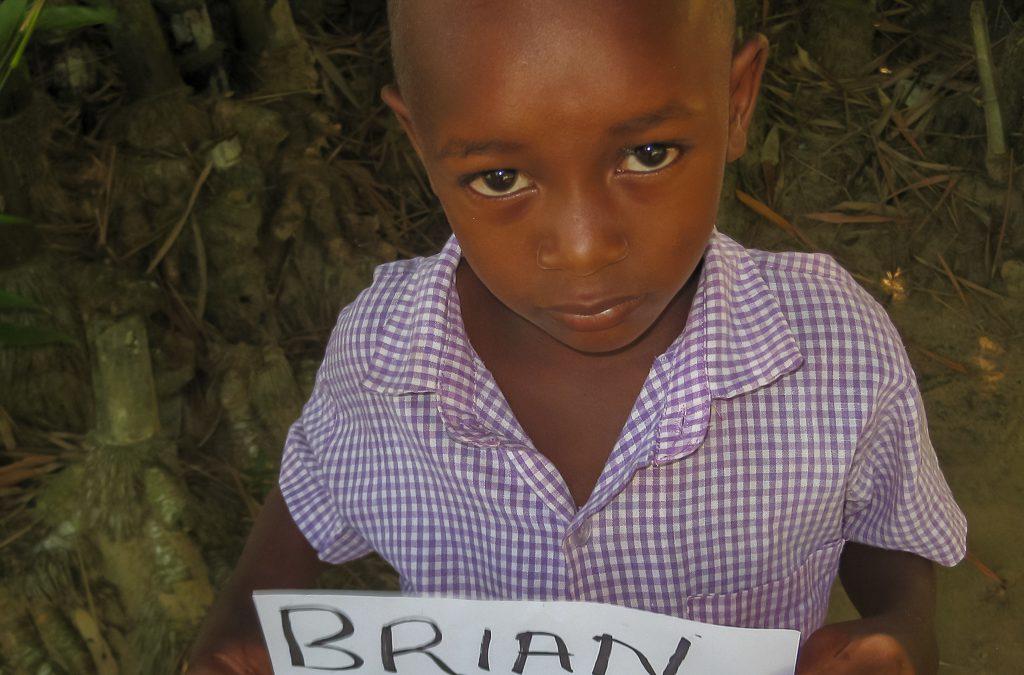 BRIAN KALUME sucht eine Patenschaft | 36-2017